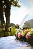 Церемония регистрации свадьбы Стоковые Изображения