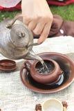 церемония чая стоковое фото rf