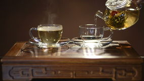 Церемония чая сток-видео