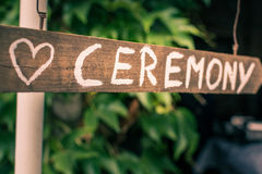 церемония Стоковые Фото