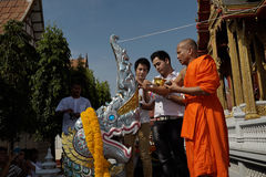 Церемония Naga индусская в Таиланде Стоковое фото RF