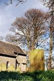 церковный двор Стоковая Фотография RF