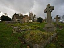 церковный двор стоковая фотография