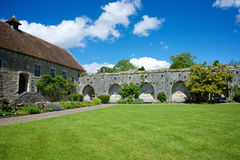 Церковь аббатства Beaulieu Стоковые Фотографии RF