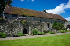 Церковь аббатства Beaulieu Стоковые Изображения