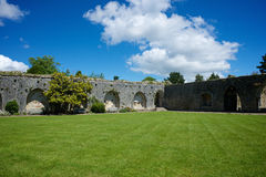 Церковь аббатства Beaulieu Стоковые Изображения RF