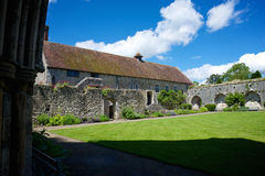 Церковь аббатства Beaulieu Стоковое Изображение