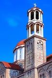 Церковь ажио Georgios, Chalkidiki, Греции Стоковые Фото
