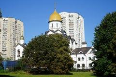 церковь Александра nevsky Стоковые Изображения