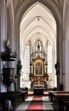 церковь алтара Стоковые Фото