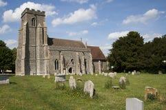 церковь Англия старая Стоковые Фото