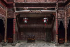 Церковь Аньхоя Yi Xian Hongcun Chengzhi Стоковые Изображения