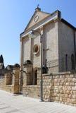 Церковь апостола Nathanael Bartholomew, Cana, Израиля Стоковые Фото