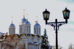 Церковь 12 апостолов в Москве Кремле Всемирное наследие ЮНЕСКО Стоковые Фотографии RF