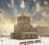 Церковь апостолов или церков монастыря стоковые фотографии rf