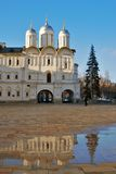 Церковь 12 апостолов Москвы Кремля Фото цвета Стоковые Фото