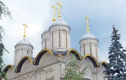 церковь 12 апостолов kremlin moscow Место всемирного наследия Unesco Стоковые Изображения