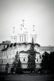 церковь 12 апостолов kremlin moscow Место всемирного наследия Unesco Стоковые Изображения RF
