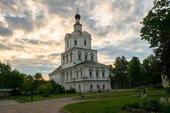 Церковь Архангела Майкл в монастыре Andronikov, Москве Стоковое фото RF