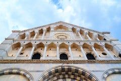 Церковь ` Алессандрии Санты Caterina d в Пизе, внешнем взгляде Стоковые Изображения