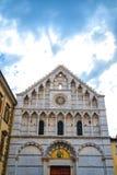 Церковь ` Алессандрии Санты Caterina d в Пизе, внешнем взгляде Стоковые Фото