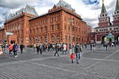 Церковь базилика в красном квадрате в Москве Стоковое Изображение RF