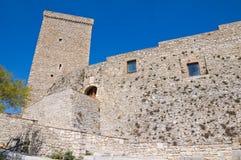 Церковь базилики St. Basilio. Troia. Puglia. Италия. стоковые изображения rf