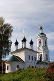 Церковь Барбары Святого в Ples, России Стоковые Фото