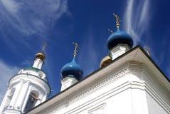 Церковь Барбары Святого в Ples, России Стоковая Фотография