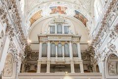Церковь барокк St Peter St Paul Стоковые Изображения