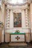 Церковь барокк St Peter St Paul Стоковое Изображение
