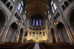 Церковь берег реки New York City стоковые изображения rf
