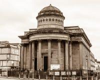 Церковь большой улицы Джордж относящаяся к конгрегации, черно--E община Стоковые Фотографии RF