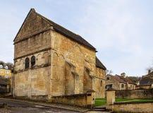 Церковь Брэдфорд Saxon на Эвоне Стоковое Изображение