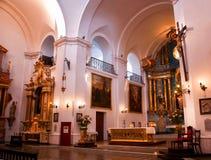 Церковь Буэнос-Айрес Сан Ignacio Стоковые Изображения