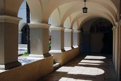 Церковь благословленной девой марии на Trsat в Риеке стоковые фотографии rf