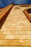 Церковь Варезе Италии виллы старые вход и мозаика двери Стоковые Фото