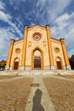 Церковь Варезе Италии виллы старый вход двери и Стоковые Фотографии RF