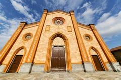 Церковь Варезе Италии виллы cortese старый вход двери и Стоковое фото RF