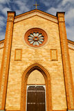Церковь Варезе Италии виллы cortese старый вход двери Стоковая Фотография RF