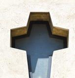 Церковь Варезе Италия креста Samarate стоковые фотографии rf