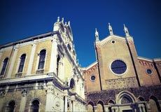 Церковь Венеции St. John и St Paul Стоковая Фотография