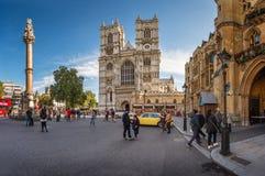 Церковь Вестминстерского Аббатства в Лондоне, Великобритании Стоковое Фото