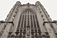 Церковь Великобритания аббатства ванны Стоковые Изображения RF