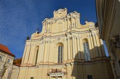 Церковь Вильнюса стоковое фото rf