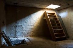 церковь внутри башни лестниц Стоковые Фотографии RF