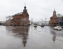Церковь внутри в vladimir, Российской Федерации стоковые фото