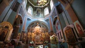 церковь внутри правоверного видеоматериал