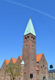 Церковь внутри copenaghen Стоковая Фотография