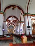 церковь внутрь стоковое изображение